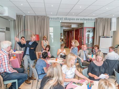 Bilder från kundevent med Pontus Wadström