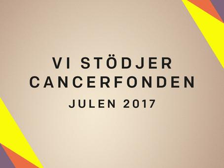 Indea stödjer Cancerfondens arbete mot cancer!