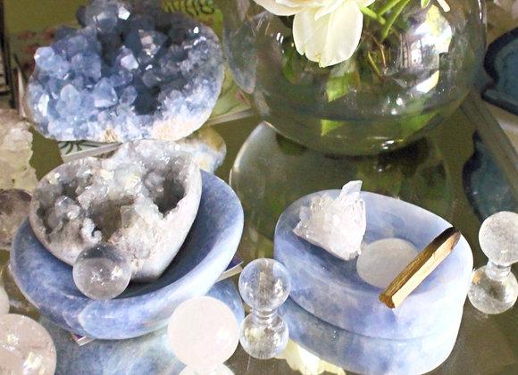 Calcite Crystal Bowl