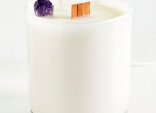 Cosmic Crystal Candle