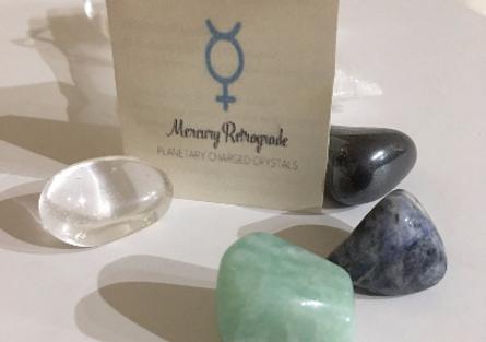 Mercury Retrograde Crystals