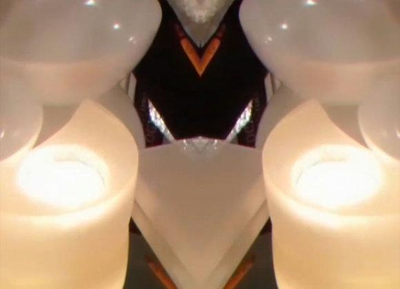 Crescent Moon Tealight Holder