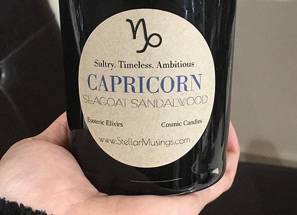 Capricorn Seagoat Sandalwood Rustice