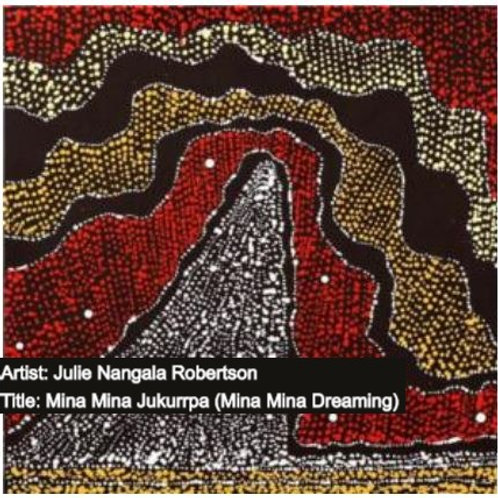 Indigenous Art 30x30cm