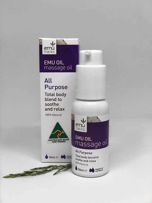 Emu Oil - All Purpose Massage Oil 50ml