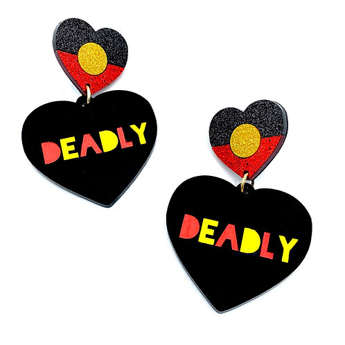 Limited Edition Deadly Heart Earrings