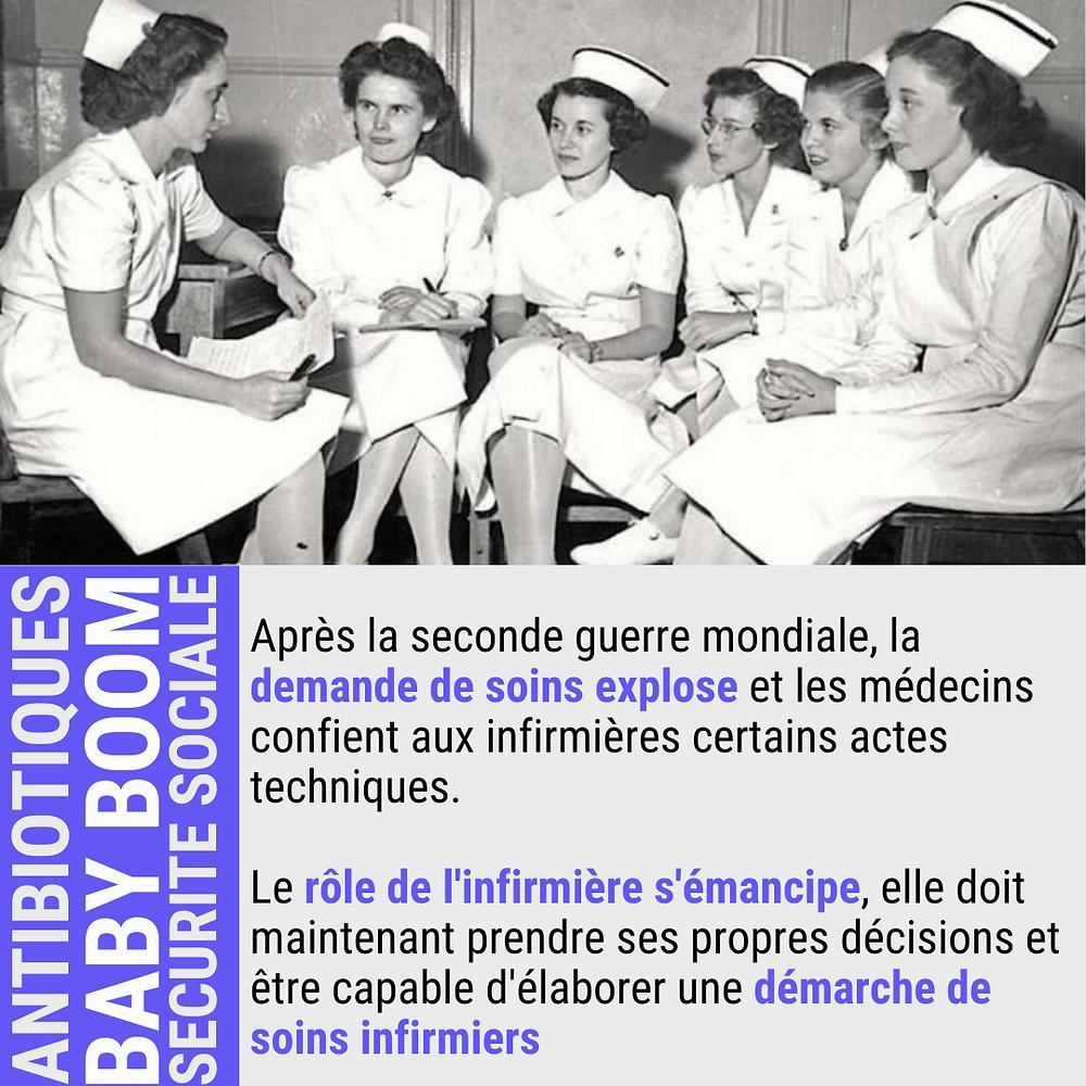 infirmière premiere profession de santé