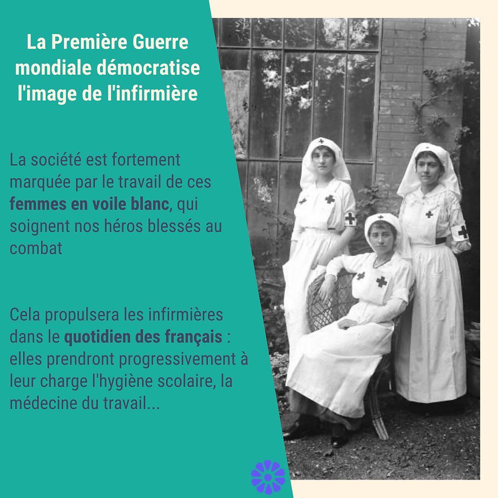 infirmieres premiere guerre mondiale