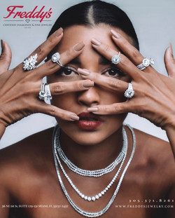 Freddy's Diamonds & Fine Jewlery for Brickell Magazine