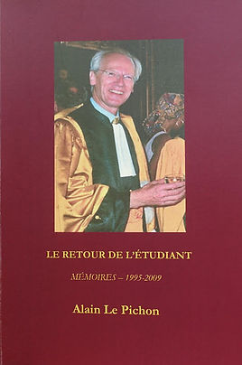 A 416-page volume containingmemoirs in French covering the years 1978 to 1994.