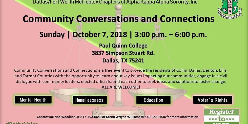 Community Conversations & Connections
