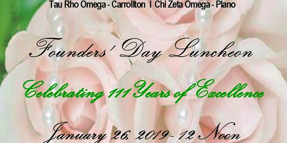 Founders' Day Luncheon (open)