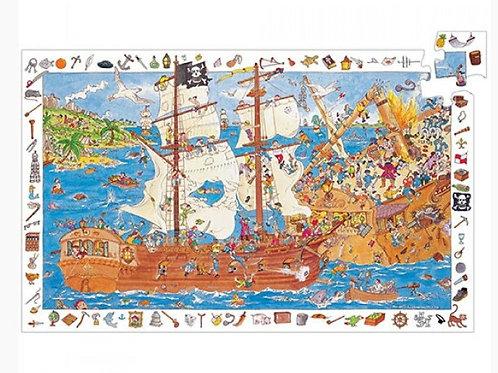 Puzzle observation Pirates Djeco