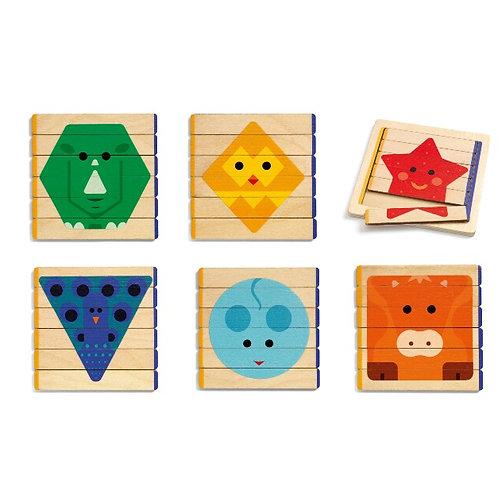 Puzzles Basic Djeco