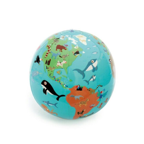 Scratch Europe Globe gonflable