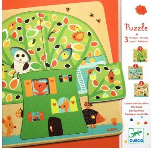 Djeco Puzzle Chez Nut