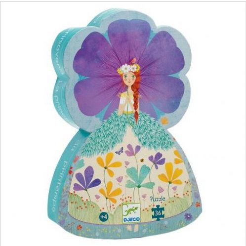 Djeco Puzzle La princesse du printemps