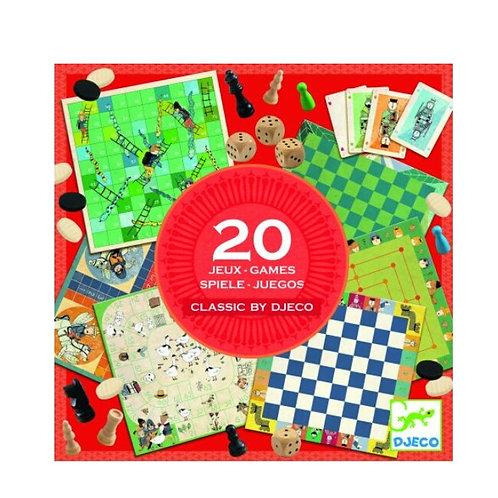 20 jeux Djeco