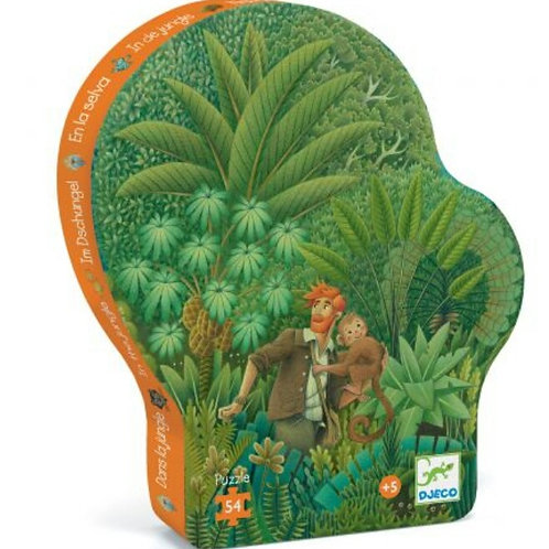 Puzzle Dans la jungle Djeco