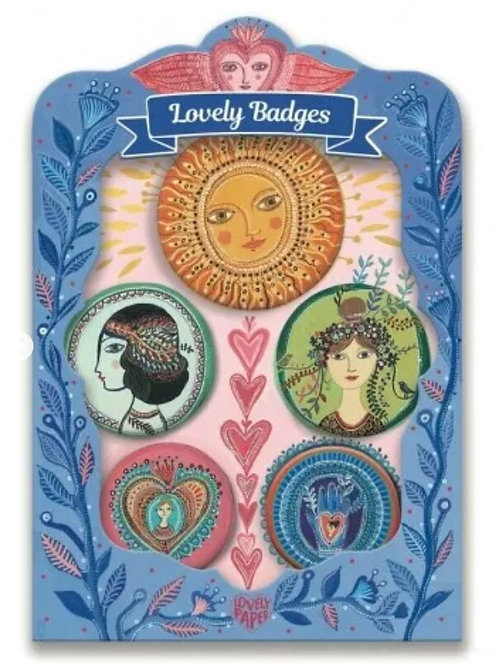 Lovely Badges Djeco