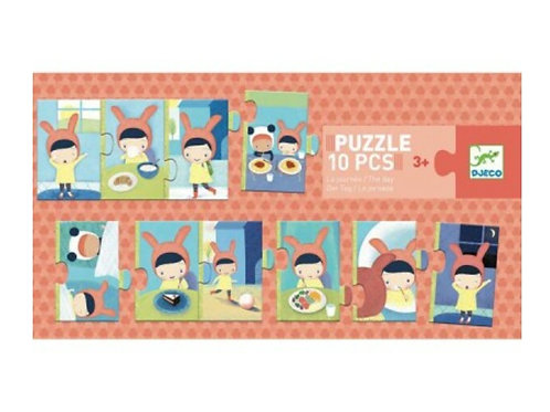 Puzzle la journée Djeco