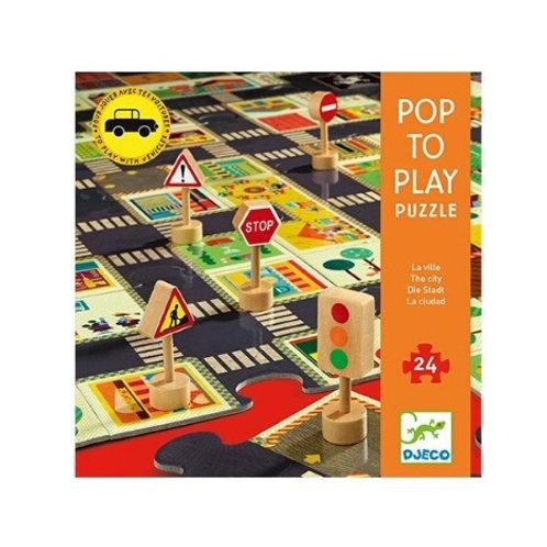 Pop to play puzzle Djeco