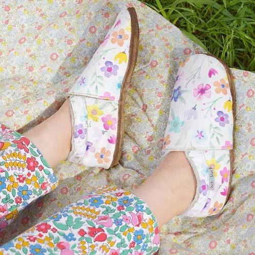 Chaussons Posy Inch Blue