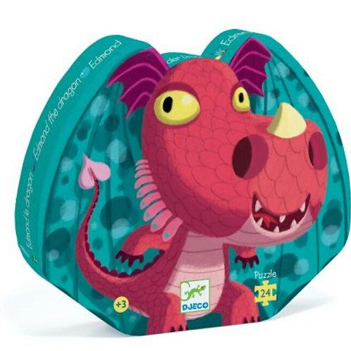 Puzzle Edmond le dragon Djeco