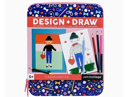 Design + Draw Petit Collage