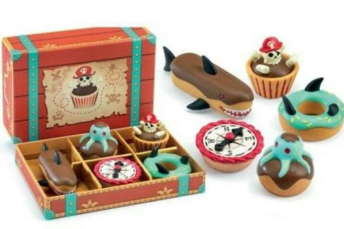 Gâteaux de pirates Djeco