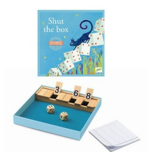 Shut the box Djeco
