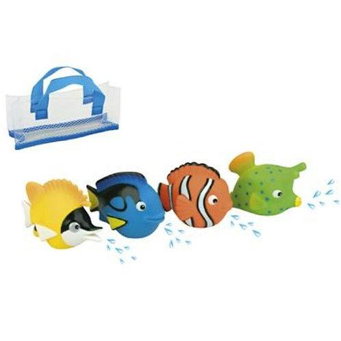 Set de bain poissons Waterworld