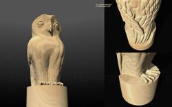 La nueva lechuza 3D concept