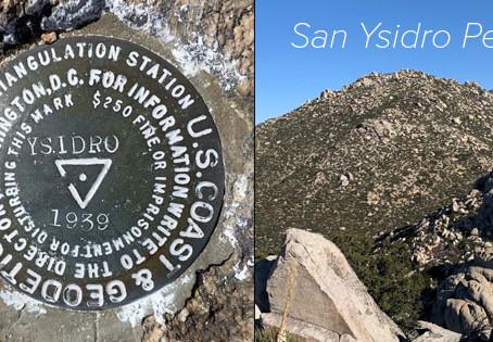 A Sweep of San Ysidro Peak