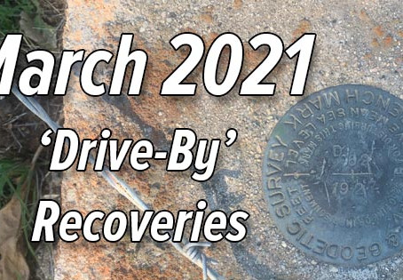 March 2021 'Drive-By' Survey Marks