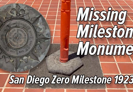The Missing Milestone Monument