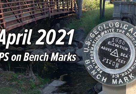 GPS on Bench Marks - April 2021