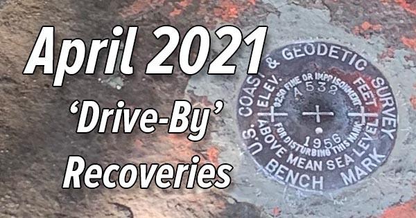 April 2021 'Drive-By' Survey Marks