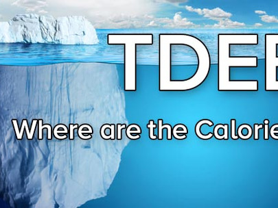 TDEE - The Basics