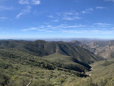 Sitton Peak on a Sunny Saturday
