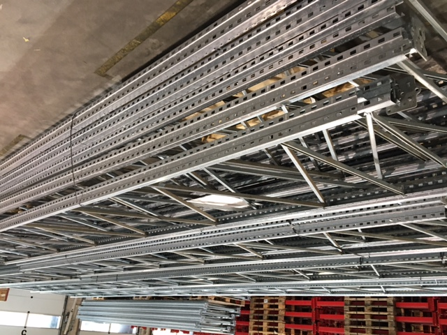 Rack à palettes galvanisé 7m haut
