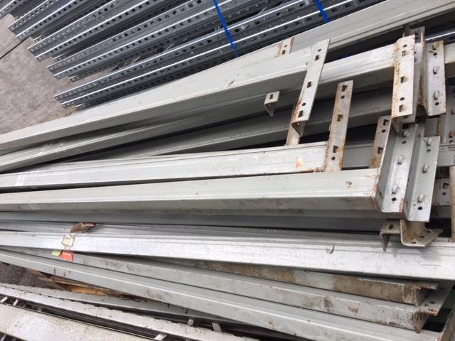 Rack à palettes gris occasion