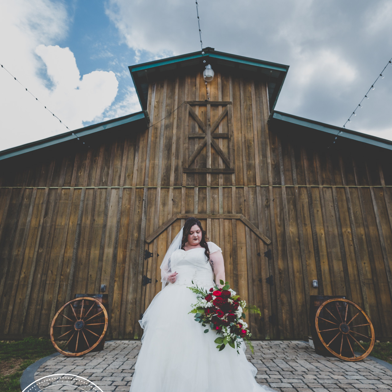 Bridal portraits at Sowell Farms