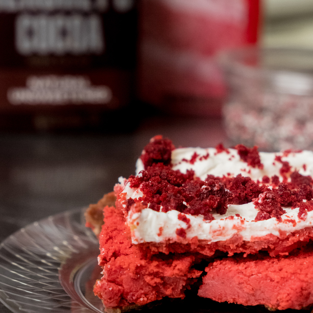 Red Velvet Cheesecake from Adonna's Bakery in Pensacola Florida!