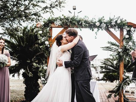 Logan + Nick's Pensacola Yacht Club Wedding