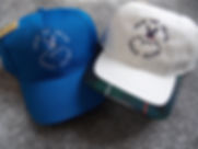 Salcombe blue and Athol (white) caps.jpg