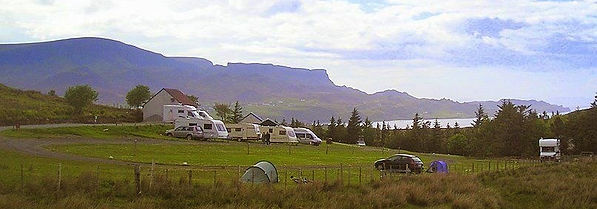staffin caravan and camping site - Ally