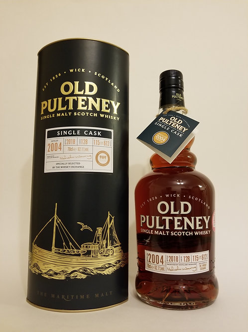 Old Pulteney 2004 Single Cask No. 128 for TWE