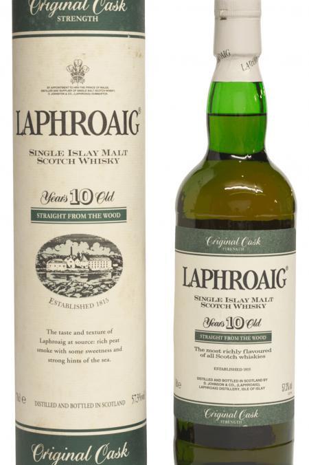 [WF 92+] Laphroaig 10 Years Old - Original Cask Strength Green Stripe