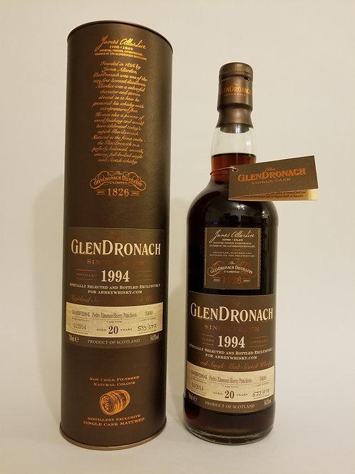 Glendronach 1994 Single Cask No. 3400 for Abbeywhisky.com